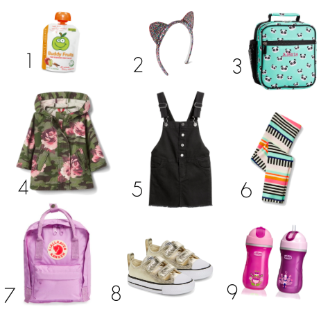 Back-to-School Basics for Juliette